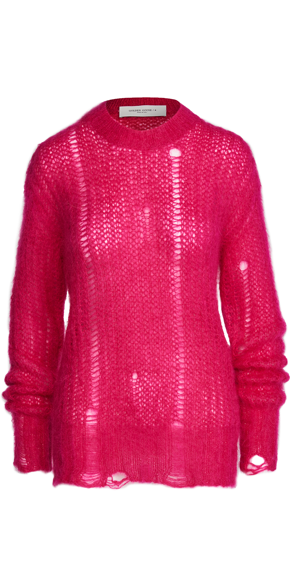 Golden Goose Round Neck Mohair Sweater