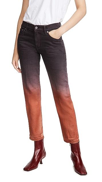 Golden Goose Amy Boyfriend Degrade' Dyed Pants