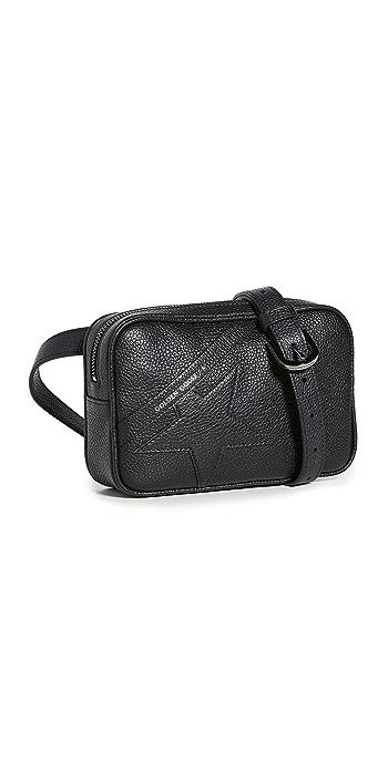 Golden Goose Star Belt Bag - Black