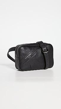 골든구스 스타백 Golden Goose Star Belt Bag,Black