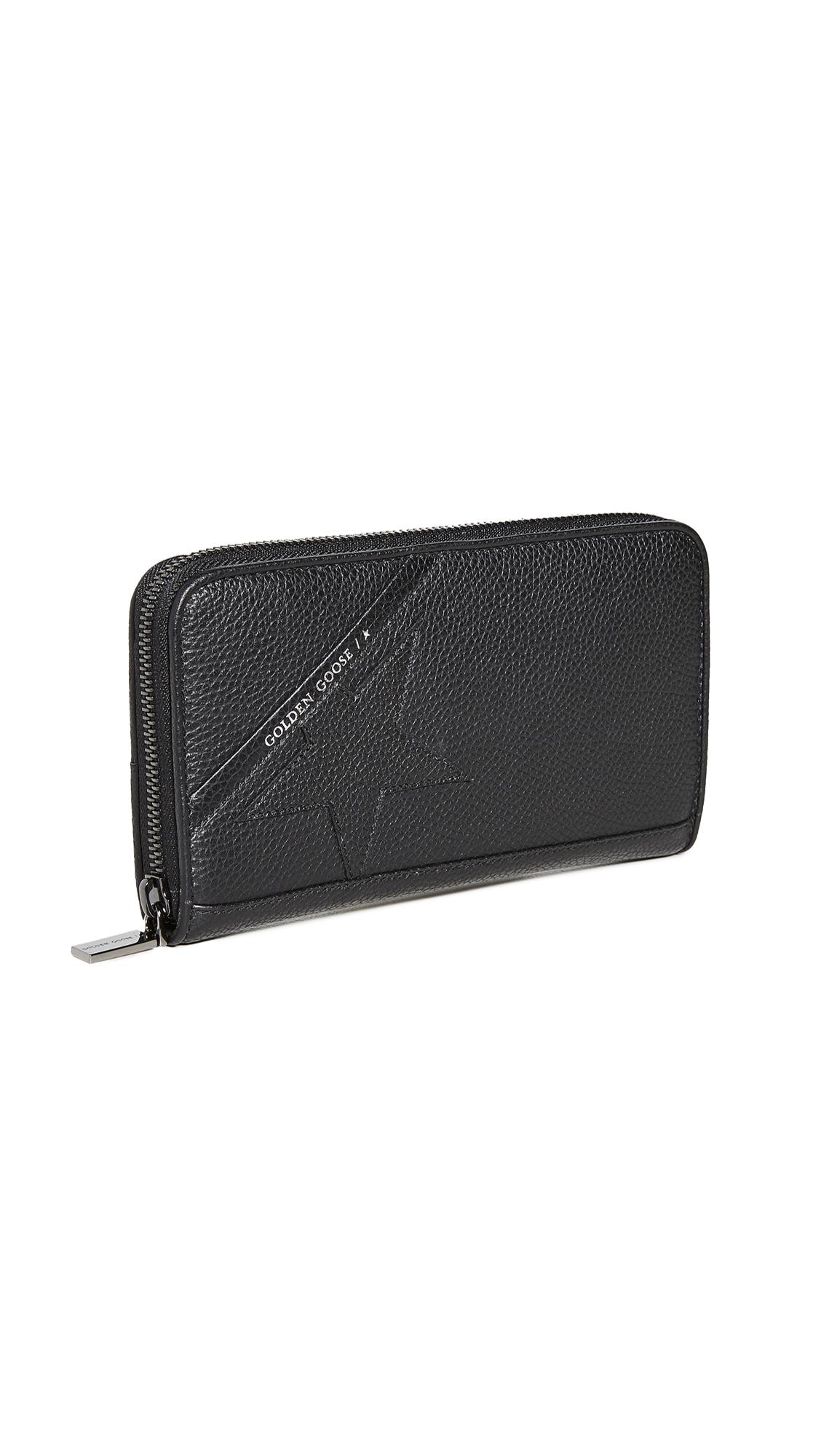 Golden Goose Star Continental Zip Wallet