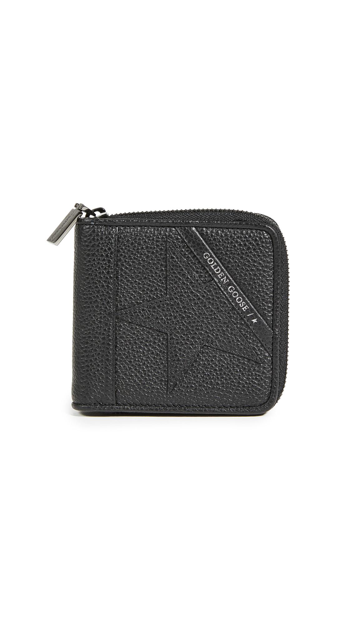 Golden Goose Star Medium Zip Wallet