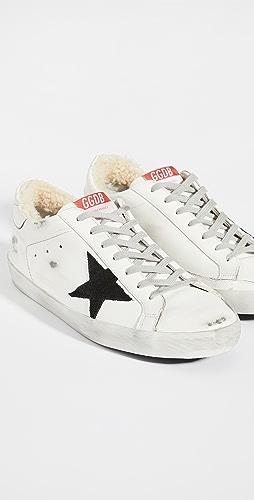 Golden Goose - Super Star Shearling Sneakers