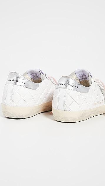 Golden Goose Superstar 绗缝运动鞋