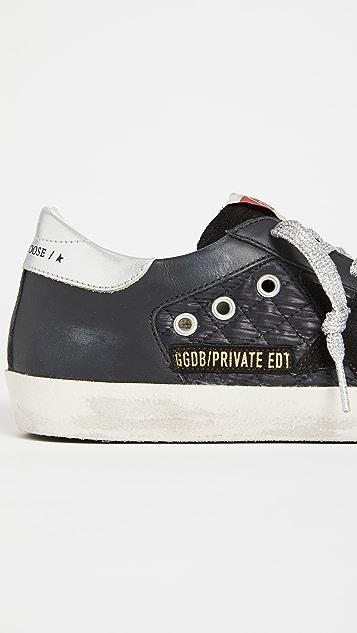 Golden Goose Superstar Quilted Sneakers