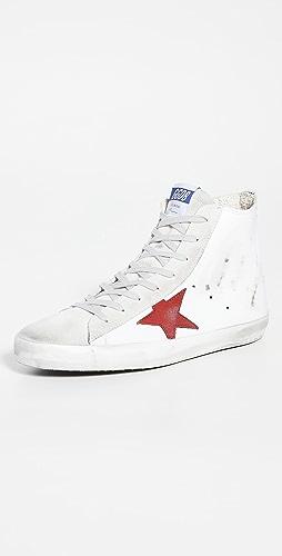 Golden Goose - Suede Toe High Top Sneakers