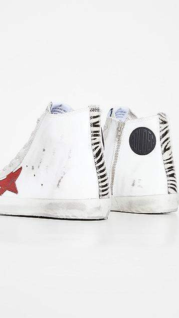 Golden Goose Suede Toe High Top Sneakers