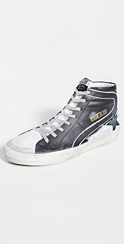 Golden Goose - Slide Leather Sneakers