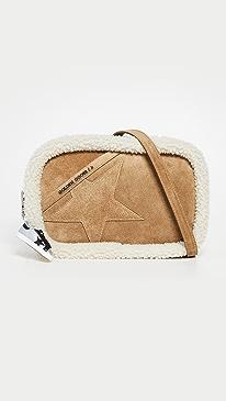 골든구스 스타백 Golden Goose Star Bag,Brown/White
