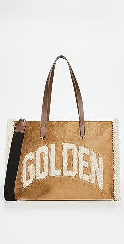 Golden Goose - California Bag E/W Golden