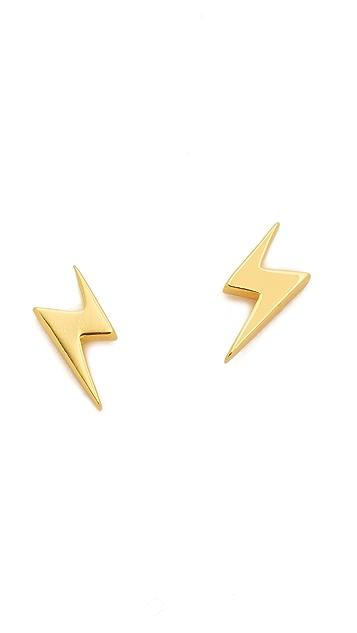 Gorjana Lightning Studs