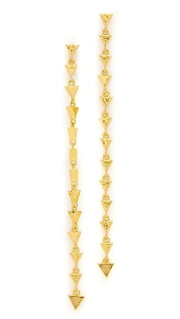 Gorjana Arden Drop Stud Earrings