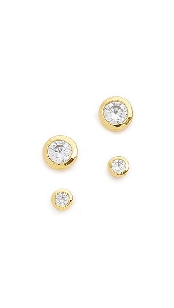 Gorjana Shimmer Stud Earring Set