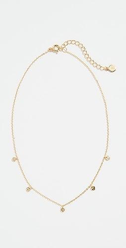 Gorjana - 5 Disc Choker Necklace