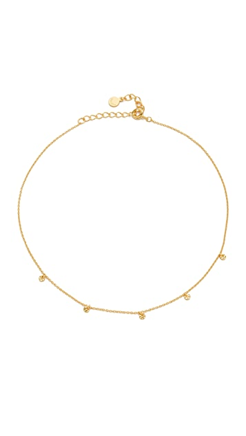 Gorjana 5 Disc Choker Necklace