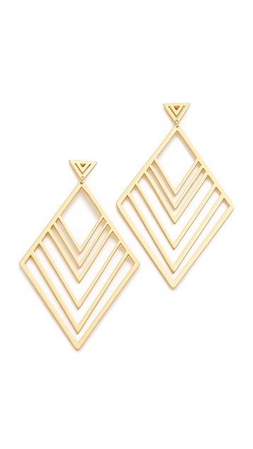 Gorjana Liv Tiered Drop Earrings