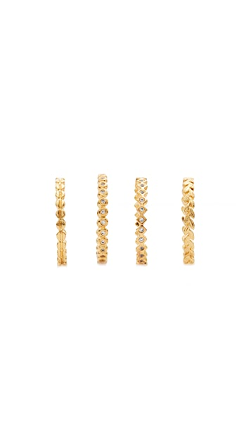 Gorjana Mini Stackable Ring Set