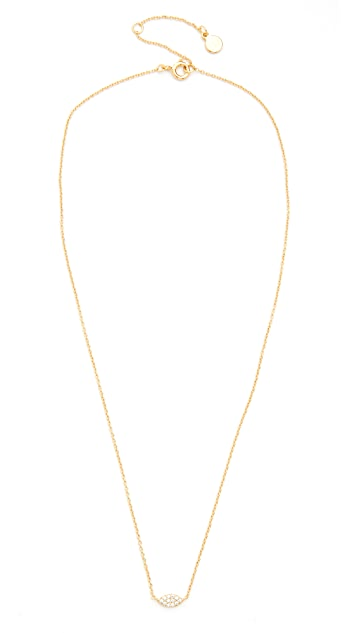 Gorjana Shimmer Marquee Charm Necklace