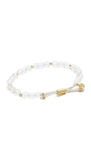 Gorjana Power Gemstone Beaded Bracelet for Clarity