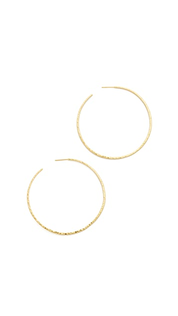 Gorjana Taner XL Hoop Earrings