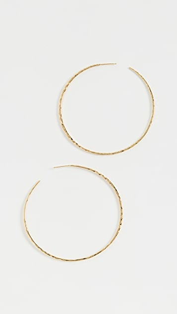 Gorjana Серьги-кольца Taner XL