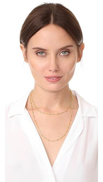 Gorjana Layer Bead Wrap Necklace