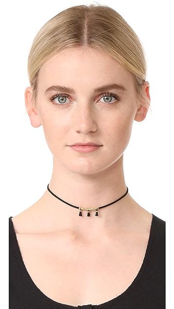 Gorjana Miller Tassel Choker Necklace