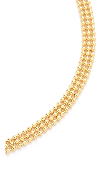 Gorjana Bali Chain Choker Necklace