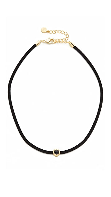 Gorjana Fairfax Gemstone Choker Necklace