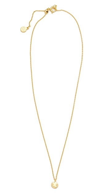 Gorjana Chloe Charm Adjustable Necklace