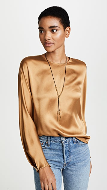 Gorjana Newport Leather Versatile Necklace