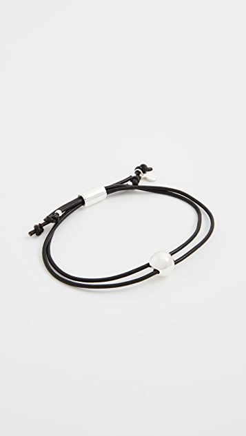 Gorjana Newport Leather Bracelet
