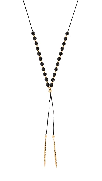 Gorjana Power Onyx Necklace for Protection