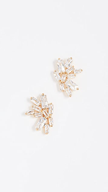 Amara Amara Gold Studs With White Pearl 2rEyf