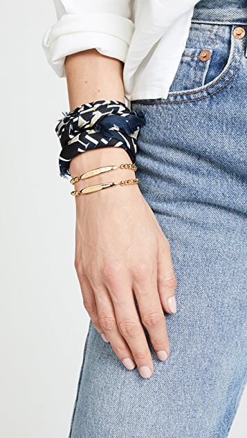 Gorjana Endless Optimism Intention Bracelet