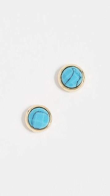 Gorjana Power Gemstone Stud Earrings