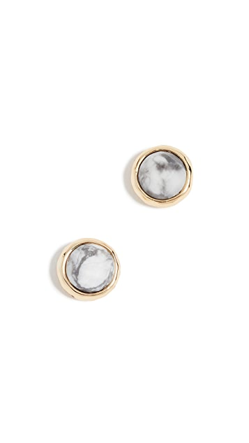 Gorjana Power Gemstone Stud Earrings