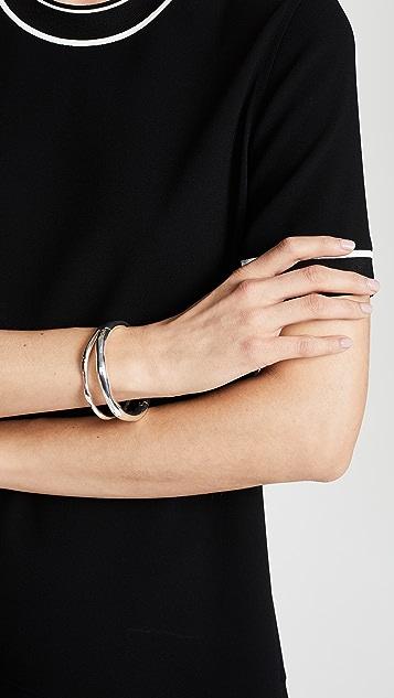 Gorjana Quinn Hinged Bangle Bracelet Set