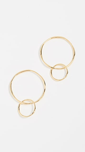 Gorjana Quinn Linked Earrings