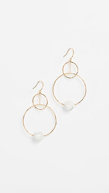 Gorjana Interlocking Drop Earrings