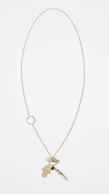 Gorjana Wanderlust Toggle Charm Necklace