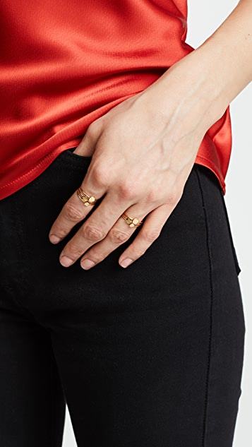 Gorjana Chloe Mixed Stacking Ring Set