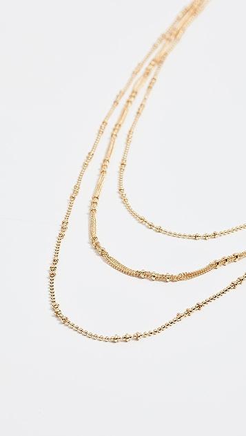 Gorjana Margo Chain Layered Necklace