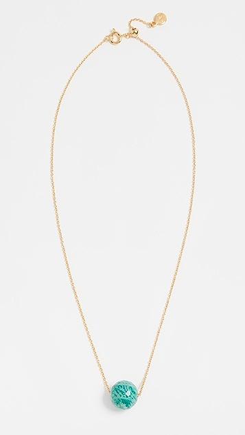 Gorjana Power Gemstone Bead Adjustable Necklace