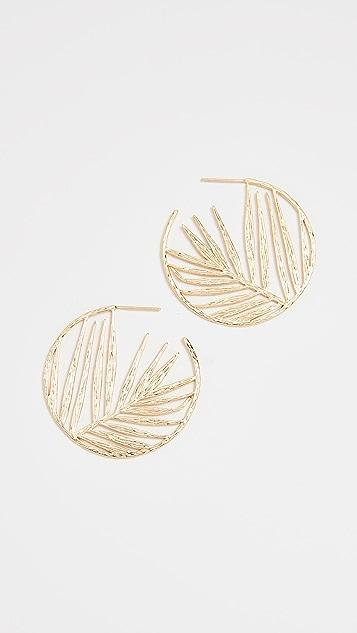 Gorjana Palm Profile Hoops