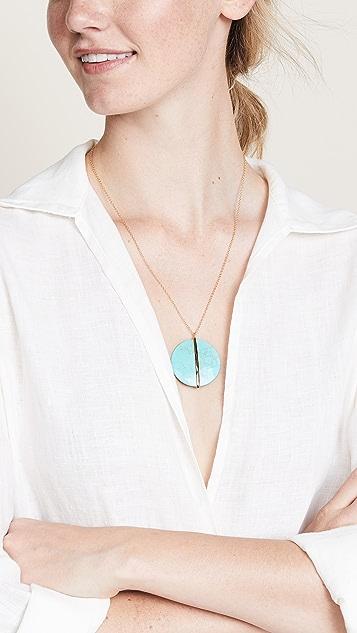 Gorjana Brinn Pendant Adjustable Necklace