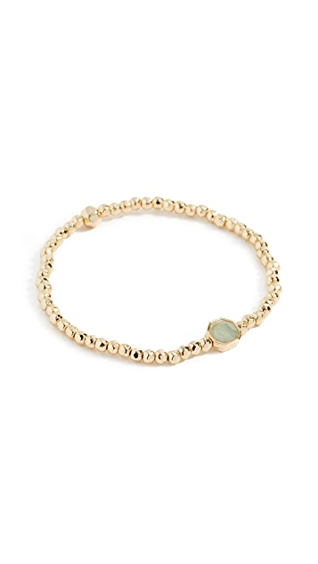 Gorjana Power Gemstone Luck Charm Bracelet