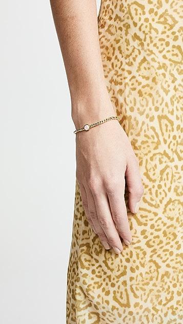 Gorjana Power Gemstone Love Charm Bracelet