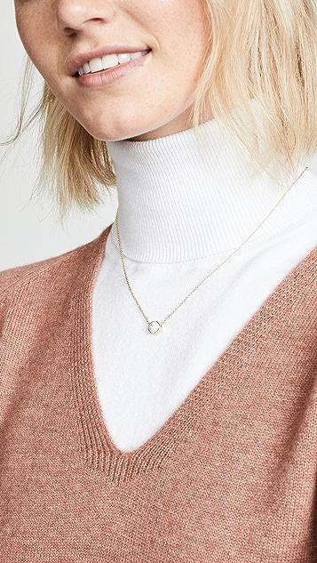 Gorjana Power Gemstone Charm Necklace
