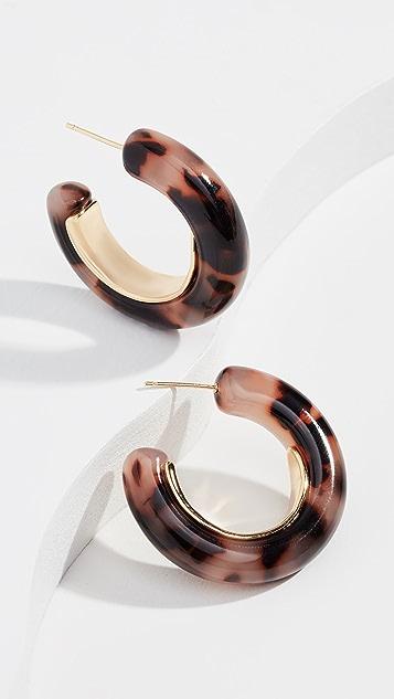 Gorjana Крупные серьги-кольца Irina